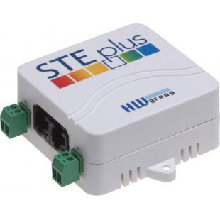 HWg-STE plus сетевой термометр с двумя входами «сухой контакт»